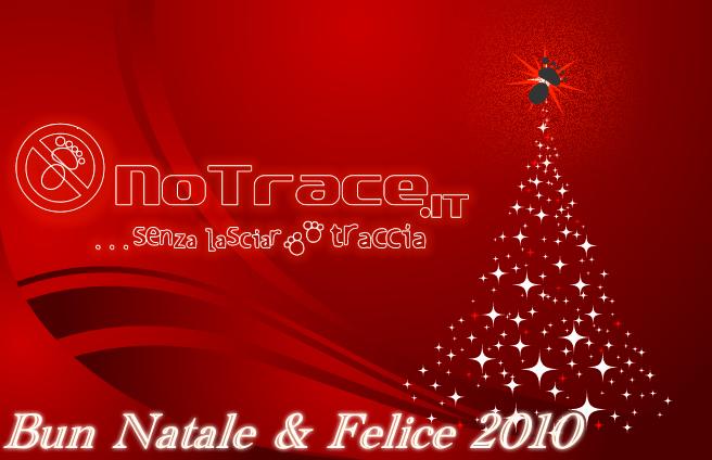 Buon Natale e Felice 2010